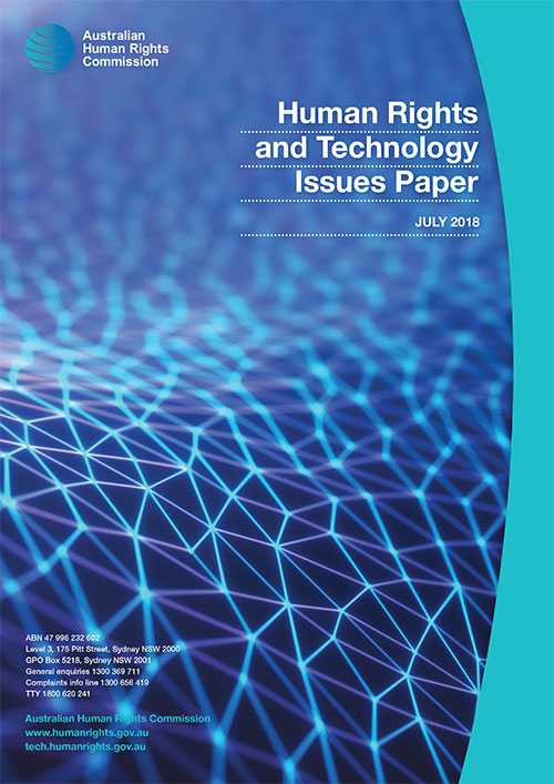 Human Rights & Technology Issues Paper